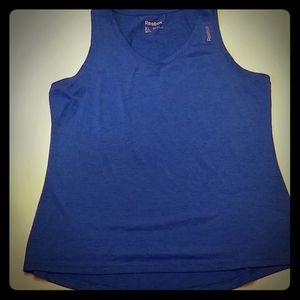 COPY - Reebok mens XL blue v neck tank top like n…